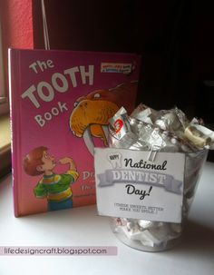 March 6th is National Dentist Day! Gift idea - especially for the daddy dentists & adaptable for any dentist! [includes free tag printable]