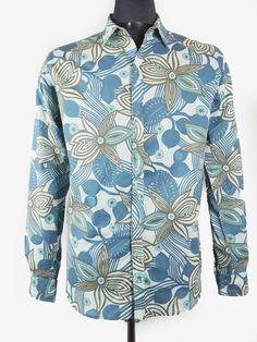 67e5ccbab2 PACAP chemise homme en coton psychédélique, hawaïen ou tahitien, rétro et  disco, rock
