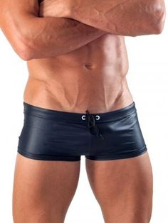 696cc99361 Geronimo 1517b2 Black square cut swim shorts - Exclusive Very Limited  Collection. The fabric has