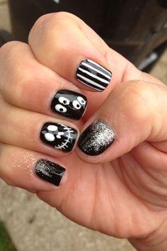 Nail art Halloween