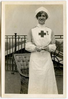 Vintage nurse photo
