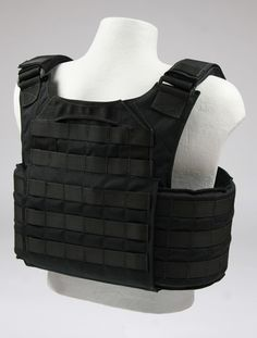 Advanced Survivor » Bellator Plate Carrier + Armor (Black)