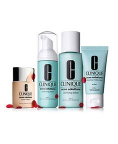 Clinique Acne Solutions - Skin Care - Beauty - Macy's $35
