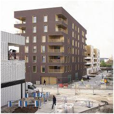 Immeuble de logement, TVK Architectes. ZAC du Chaperon Vert, Arcueil. | Flickr - Photo Sharing!
