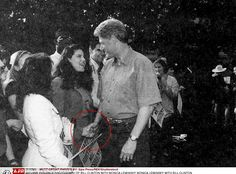 How brazen Bill Clinton and Monica Lewinsky were never far apart