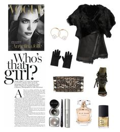 """""""glorious"""" by nazerenler on Polyvore featuring Karl Donoghue, Ivy Kirzhner, Bao Bao by Issey Miyake, Elie Saab, Bobbi Brown Cosmetics, Alexander McQueen, Pearlyta and NARS Cosmetics"""