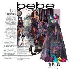 """Destination Runway with Bebe : Contest Entry"" by ewa-naukowicz-wojcik ❤ liked on Polyvore featuring Bebe and beiconic"