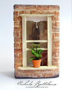 Leon's Window  Miniature based on Leon The by PixieHillStudio, $185.00