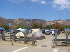 Gaviota Beach State Park Camp Grounds Mostly Tent Camping Here With A Few Smaller Rvs