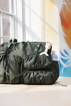 MZ Wallace Sage Bedford Nylon Kate bag, which comes with a changing pad and  is e18f507aae