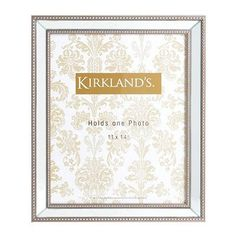 Beveled Mirror Picture Frame, 11x14 by Kirkland's $20