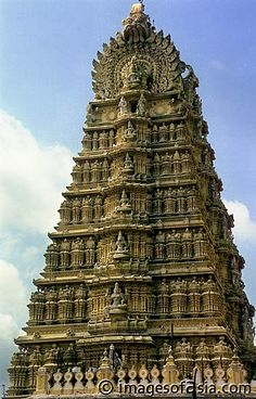 The Virupaksha temple is the main center of pilgrimage at Hampi. India