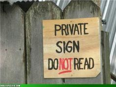 Some Funny signs - Sharenator - It's Human Nature To Share Funny Warning Signs, Funny Signs, Funny Names, Ludacris, 12 Signs, Say That Again, Street Signs, Street Art, You Funny