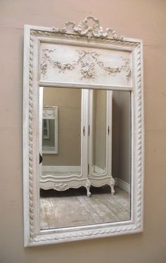 painting my new (old) trumeau mirror white like this with ASCP?