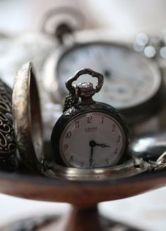 time doesn't really wait for you to pick it up and wind its mechanism ... time waiting is an illusion.