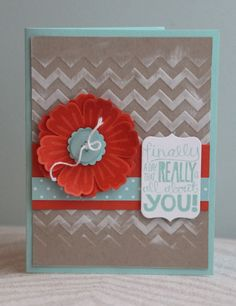 Stampin' Up! - Chevron, Really Good Greetings & Mixed Bunch - Amy Bollman by delores