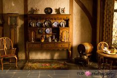 A colonial kitchen