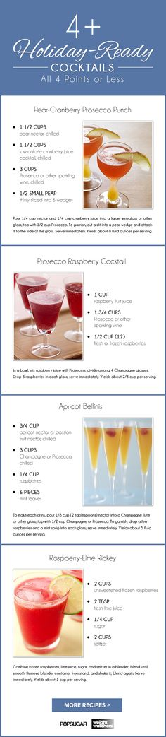 Get your drink on this holiday while sticking to your weight loss goals!