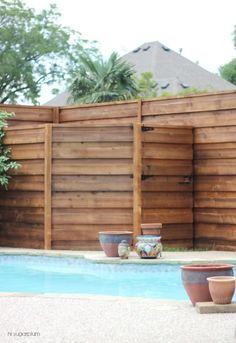 {The Backyard} A New Horizontal Fence