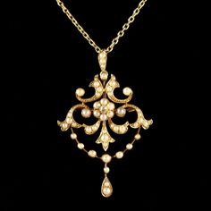 is your home for the most beautiful antiques on earth: antique furniture, fine jewelry, fashion and art from the world's best dealers. Cameo Jewelry, Pearl Jewelry, Jewelry Art, Gemstone Jewelry, Gold Jewelry, Jewelry Accessories, Fine Jewelry, Fashion Jewelry, Edwardian Jewelry