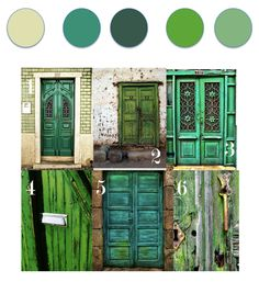 What a great idea for a color palette inspiration!  If you don't follow Louise Gale's blog, you really should!