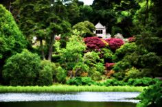 Temple of the WInds at Mount Stewart, Northern Ireland... Photography by Tina Ferguson