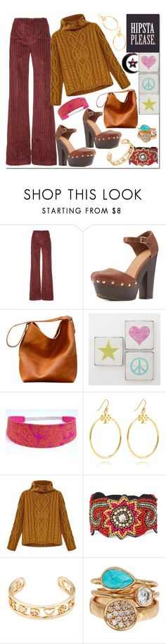 """""""Hipsta Please!"""" by westcoastcharmed ❤ liked on Polyvore featuring Isa Arfen, Charlotte Russe, PBteen, Tory Burch, Decree, Marc by Marc Jacobs and Melinda Maria"""