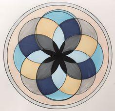 """Semana 5 - Mandala 2 """"Luz y Agua"""""""