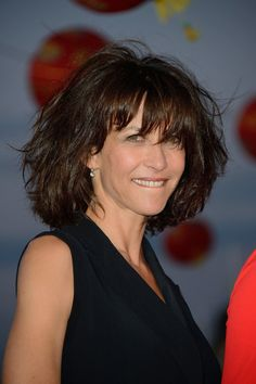sophie marceau on red carpet cabourg film festival in cabourg france - Kurzhaarfrisuren Up Dos For Medium Hair, Medium Hair Styles, Short Hair Styles, French Actress, Bob Hairstyles, Film Festival, New Hair, Look, Beauty Hacks