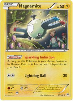 Magnemite 51/162 Pokemon TCG: XY BREAKthrough Pokemon Card #pokemon #pokemontcg #pokemoncards #thepokemart