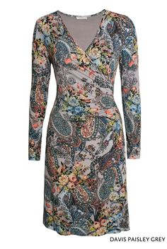 Davis Paisley Grey von KD Klaus Dilkrath #kdklausdilkrath #kd #kd12 #dilkrath #KDKlausDilkrath #DavisDress #paisley #fashion #dress