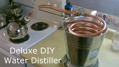 How To Build A Simple Water Purifier That Turns Dirty Or Even Salt Water Into Clean Fresh Pure Water... - http://www.ecosnippets.com/diy/how-to-build-a-simple-water-purifier/