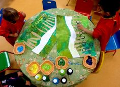 Art Plastique, Gingerbread Man, Art For Kids, Fairy Tales, Art Projects, December, Recherche Google, Ps, Landscapes