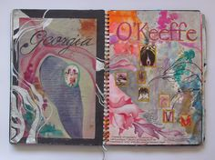 Discover recipes, home ideas, style inspiration and other ideas to try. A Level Art Sketchbook, Sketchbook Layout, Textiles Sketchbook, Sketchbook Ideas, Fashion Sketchbook, Georgia O'keefe Art, Art Alevel, Photography Sketchbook, Art Folder