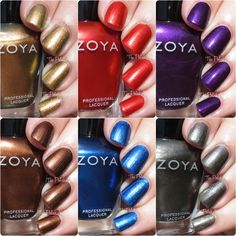 Zoya Fall 2015 Flair Collection Swatches