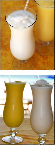 Virgin Mango Colada by Our Best Bites
