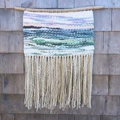 Allison Pinsent Baker (@shadbayweaving) • Instagram photos and videos Basket Weaving, Tassel Necklace, Tapestry, Crafty, Photo And Video, Abstract, Artist, Diy, Videos