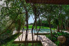 Aldea House. Location:La Ceiba, Mérida, Yucatan, Mexico;     firm: Seijo Peon Arquitectos y Asociados; year: 2012