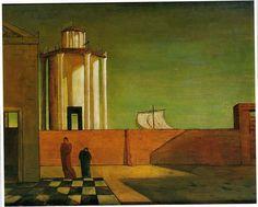 Maleren Giorgio de Chirico WWW.ITALY.DK