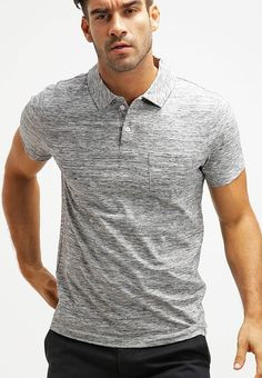 Pier One Polo - grey melange - Zalando.es