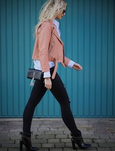 Fashiolista.com | Pink Leather | Anouk Yve