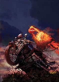 Arthur Suydam Ghost Rider