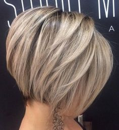 Balayage-Straight-Short-Bob-Haircut-Easy-Office-Hairstyle » New Medium Hairstyles