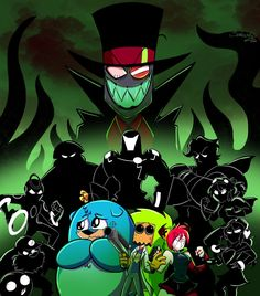 Here is a fan poster I did in celebration of the upcoming Villainous episodes! Can't wait for the premiere! @AlanIturiel @AIanimacion Stay EVIL ;)🎩🌼🦎✈️ #Villanos #Villainous #Villainousfanart #BlackHat #DrFlug #Demencia Cartoon Network, Villainous Dementia, Dr Flug, Rick Y Morty, Fan Poster, Villainous Cartoon, Owl House, Memes, Cool Art