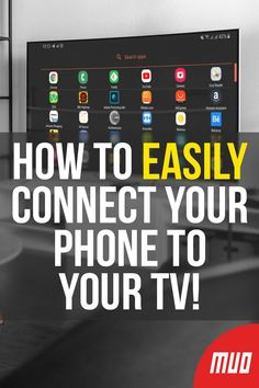 How to EASILY Connect Your Phone to Your TV! --- While the convenience of a built-in screen is ideal for on-the-go use, hooking up a phone to a TV is a worthy consideration. In this article, learn how to connect your phone to your TV using USB! Android Phone Hacks, Iphone Life Hacks, Cell Phone Hacks, Smartphone Hacks, Android Box, Technology Hacks, Computer Technology, Computer Programming, Iphone To Tv