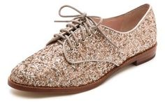 Kate Spade New York Paxton Glitter Oxfords