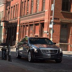 An inspired appearance. The powerful and refined Cadillac #ATS Coupe. - photo from cadillac #FieldsCadillac #Cadillac #StAugustine #SaintAugustine #Florida #Augustine