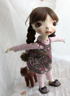 Dress for Connie Lowe sprockets  Meek Glum by meadowdoll on Etsy, $55.00