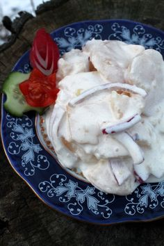Nagyon szeretjük, mégis ritkán készül. Általában Karácsony környékén. A legjobb saláta... Hungarian Recipes, Hungarian Food, Ice Cream, Chicken, Meat, Desserts, Ice Creamery, Postres, Hungarian Cuisine