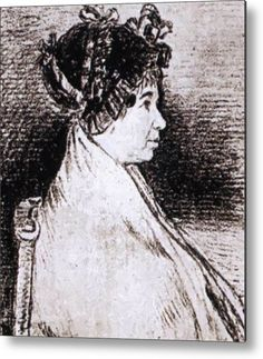 """New artwork made with love for you ready to decorate your house! - """" Josefa Bayeu 1805 Metal Print by Goya Francisco """" - https://ift.tt/2KIsT3a"""